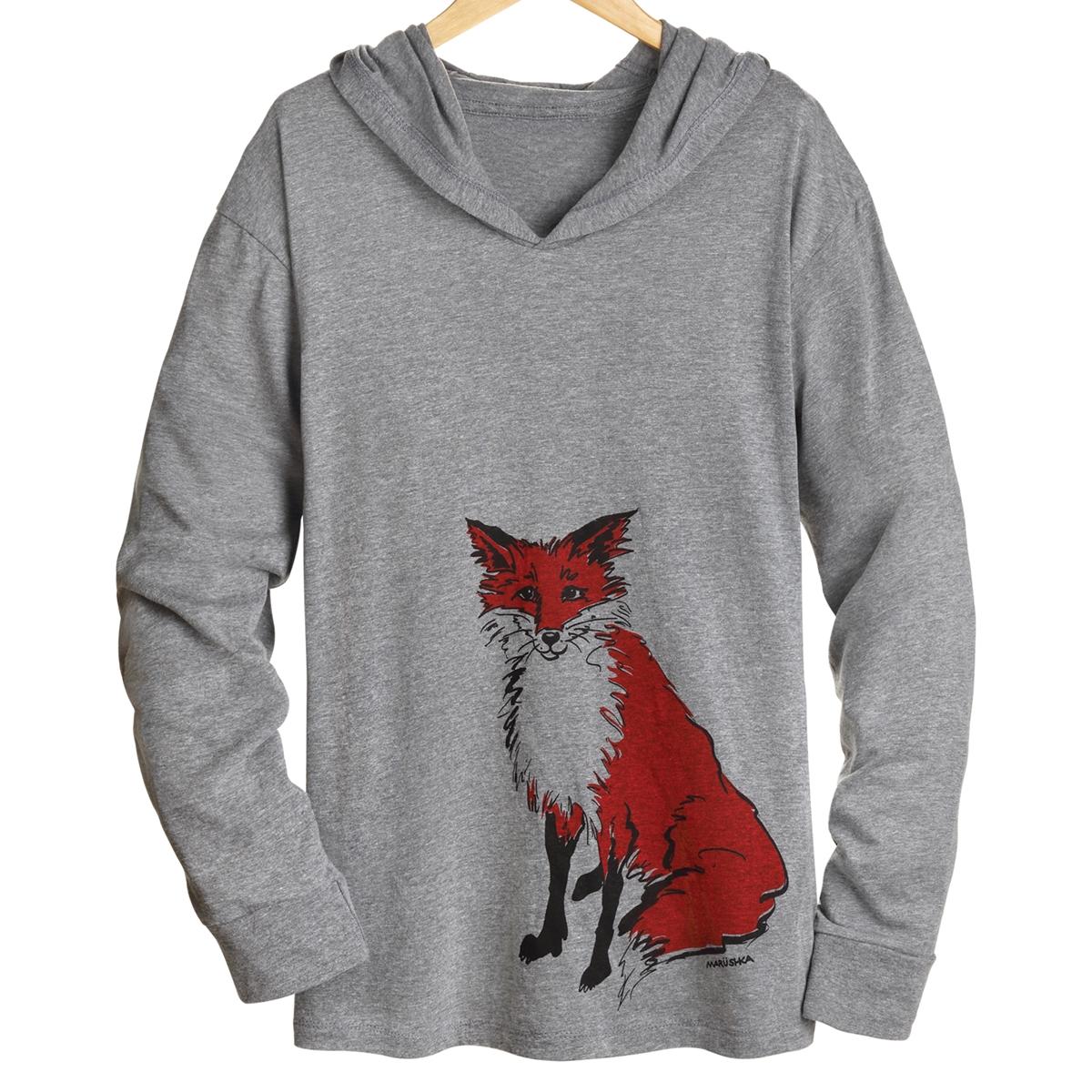 Fox Hooded Tee
