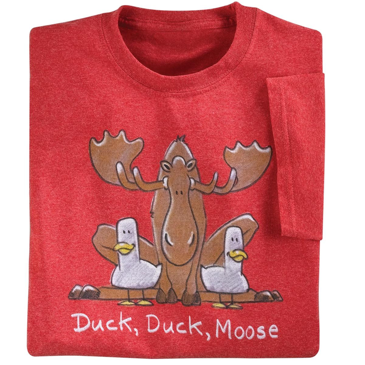 Duck, Duck, Moose Tee