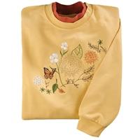 Chrysanthemum Pullover