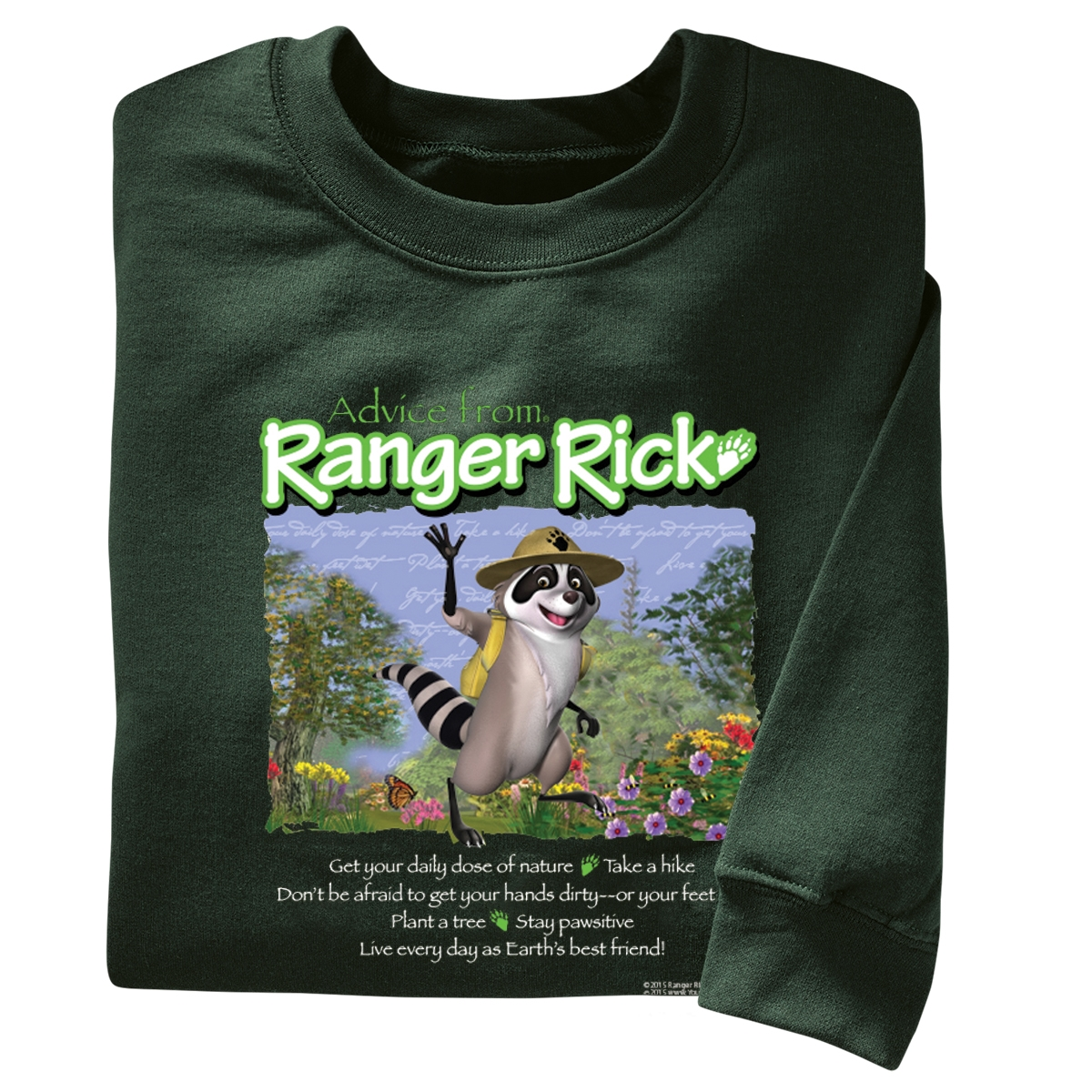 Advice from Ranger Rick Adult Sweatshirt
