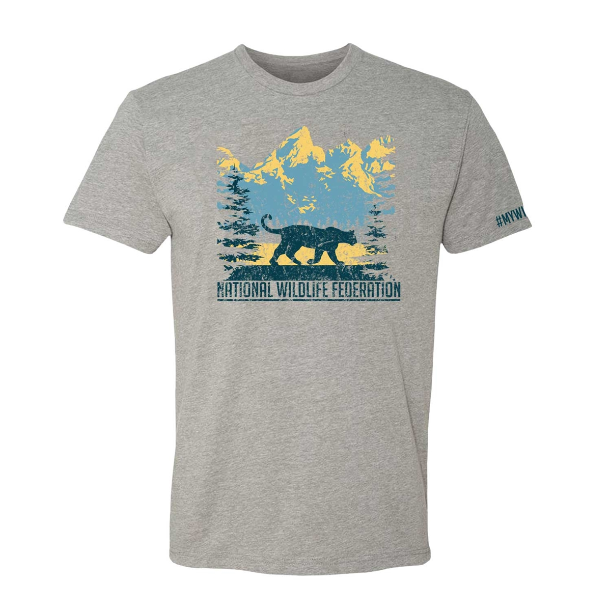 Mountain Lion Walk Tee