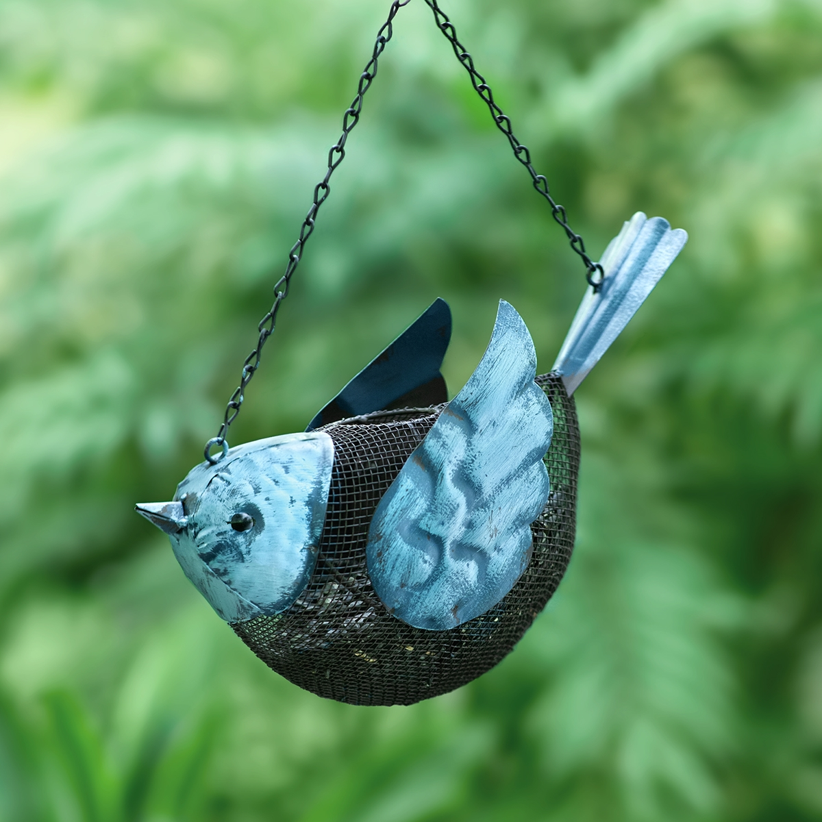 Bluebird Metal Feeder