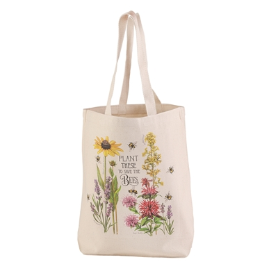 Plant These for the Bees Tote Bag