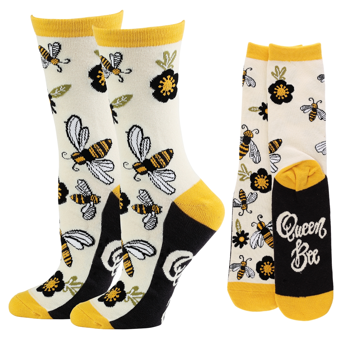 Queen Bee Socks
