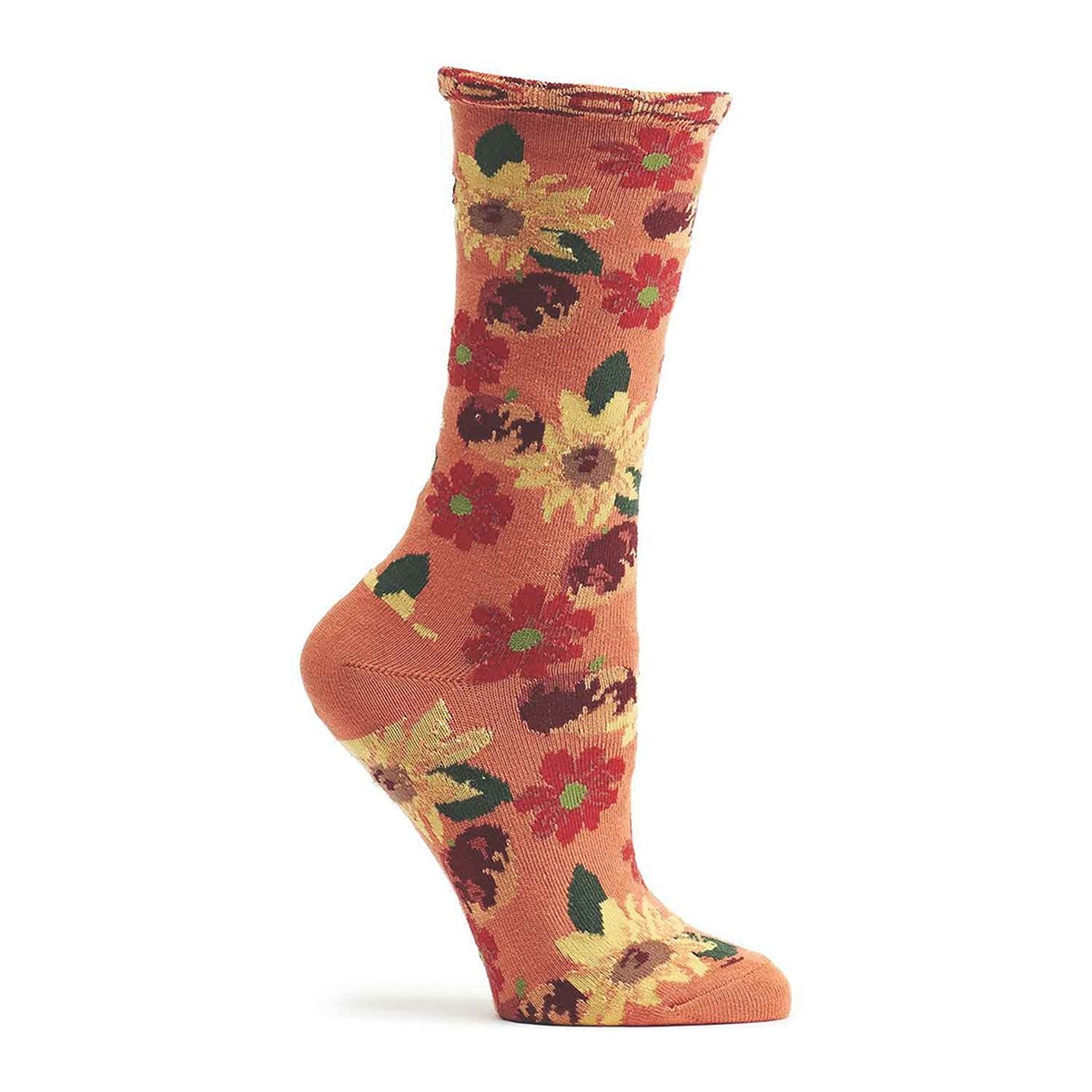 Summer Sensation Floral Socks