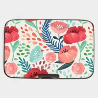 Painted Poppies Armored Wallet
