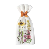 Plant These for the Bees Towel Set