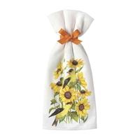 Sunflowers and Finches Kitchen Towel Set