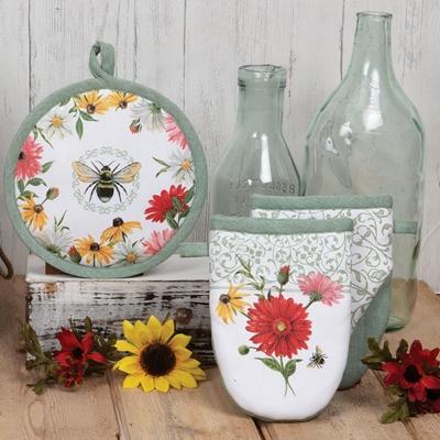 Floral Buzz Kitchen Set