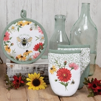 Floral Buzz Kitchen Set