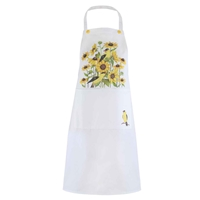 Sunflowers and Finches Apron