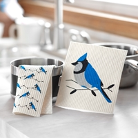 Blue Jay Swedish Dish Cloth Set