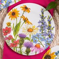 Wildflowers Dinner Plate Set