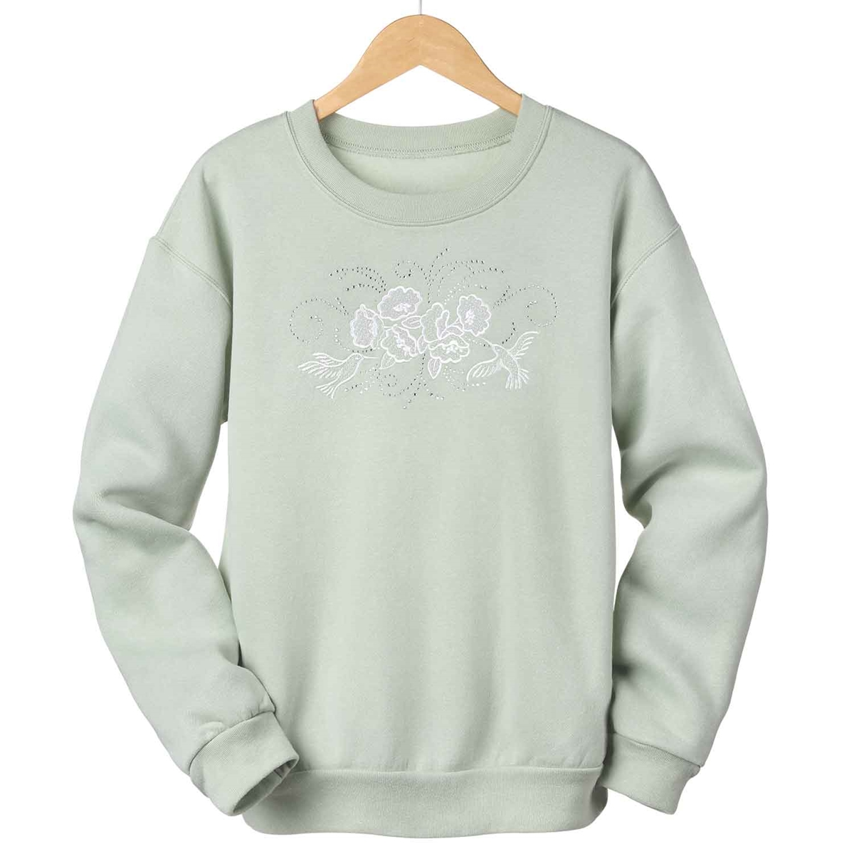 Hummingbird Haven Pullover