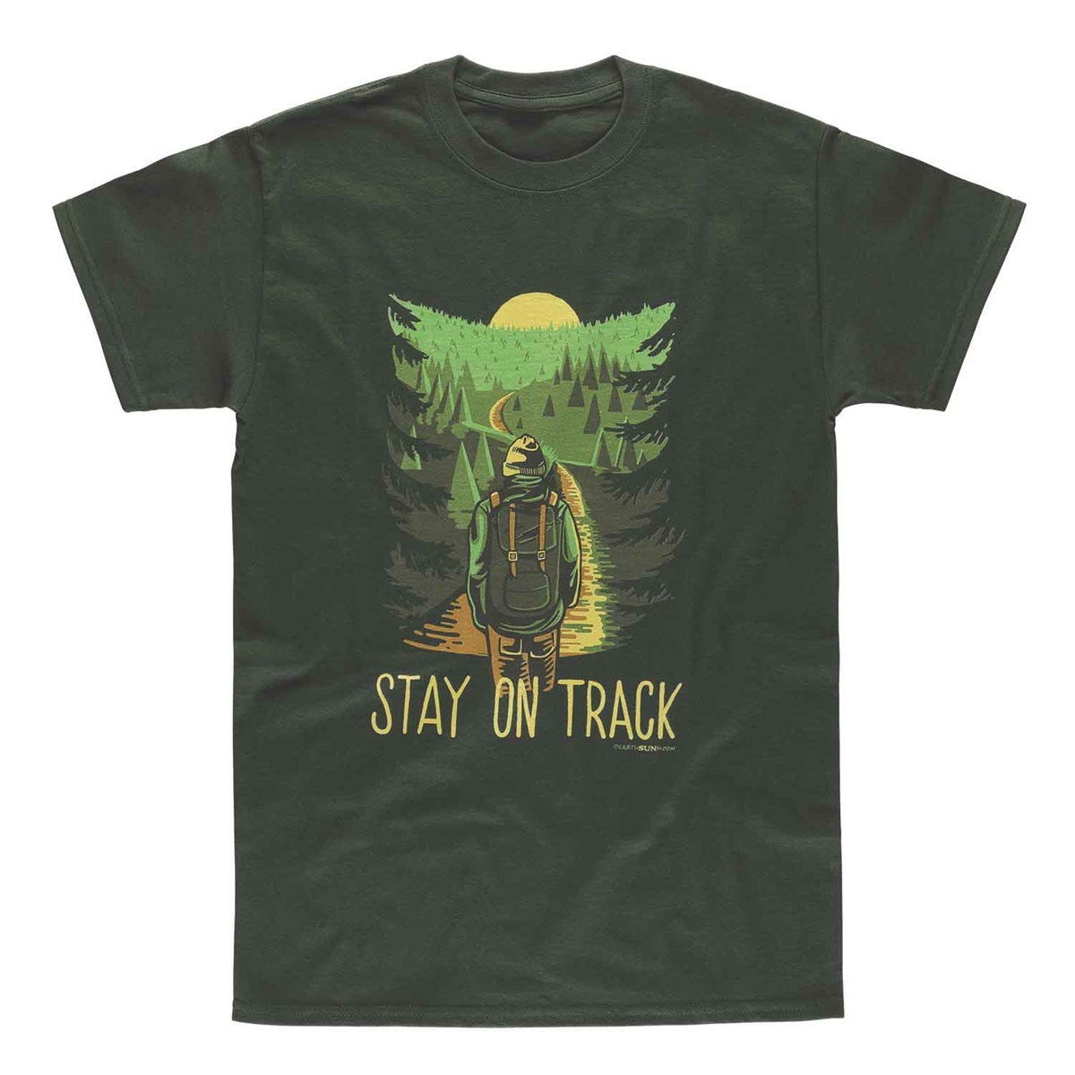 Stay on Track Tee