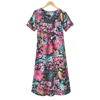 Floral Explosion Knit Dress