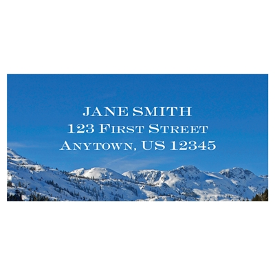 Tahoe Reflection Address Label