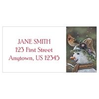 Snow Mama Address Label