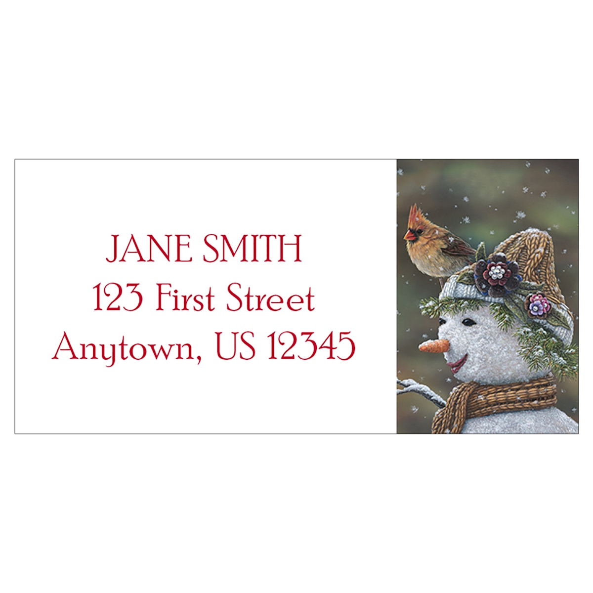 Snow Mama Address Label