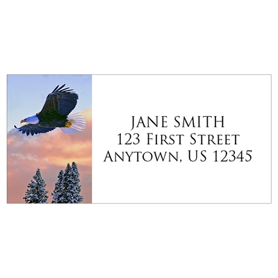 Soaring Eagle Address Label