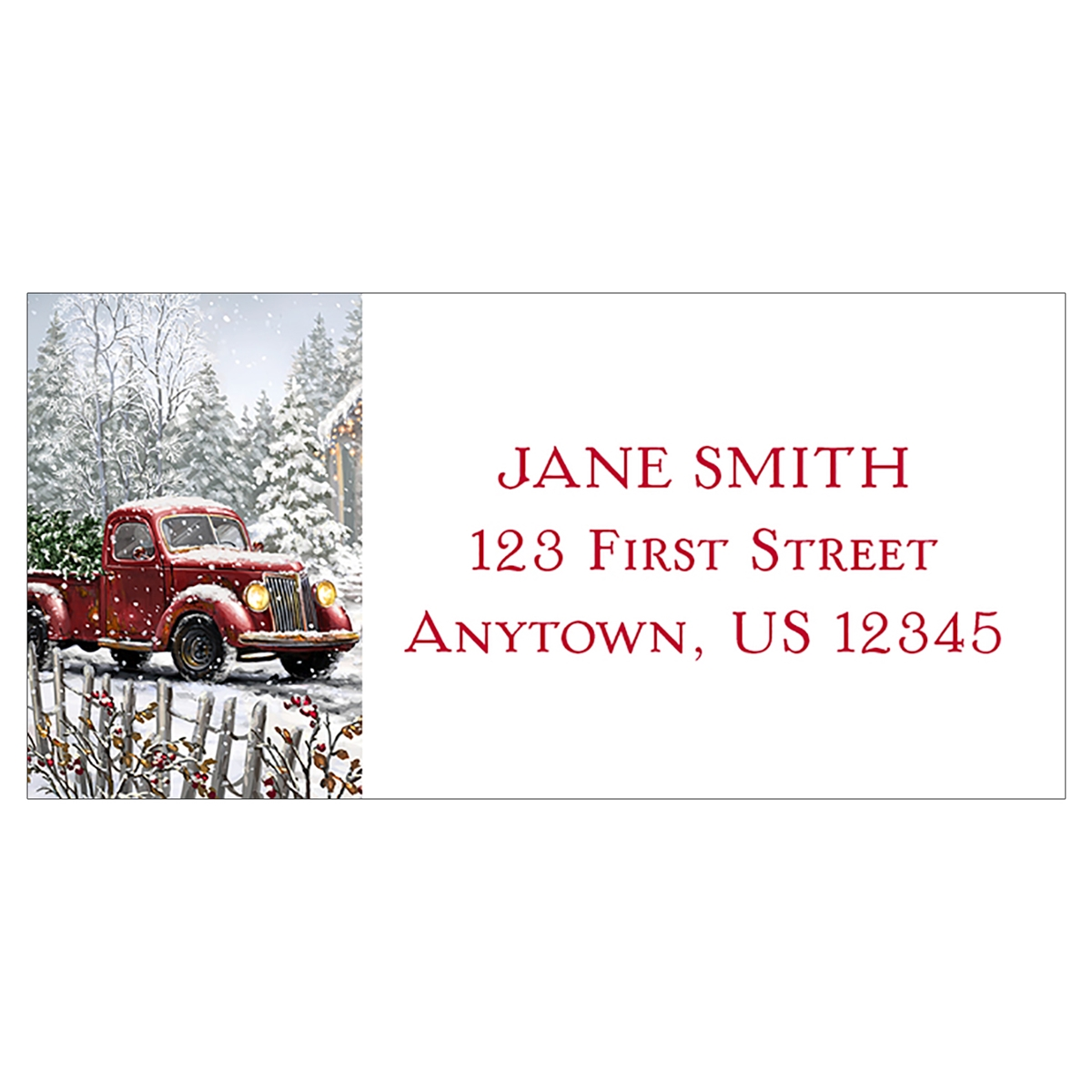 Special Delivery Address Label