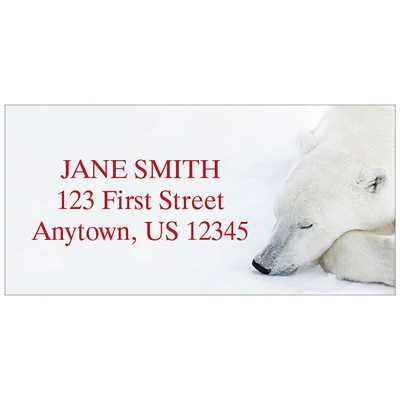 Sleeping Bear Address Label