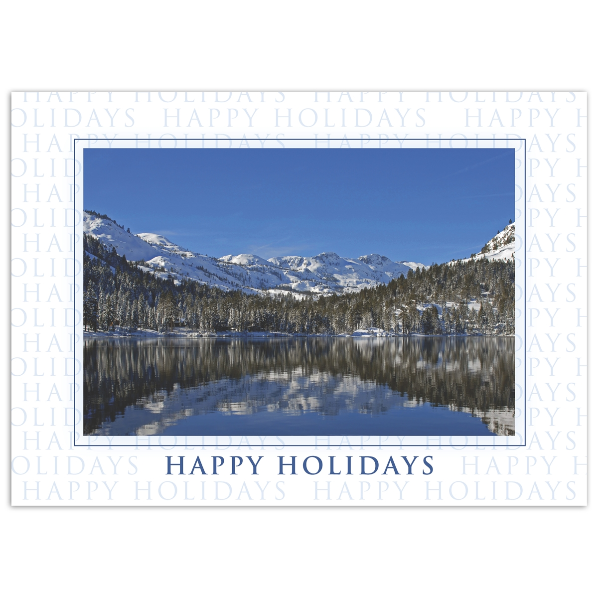Tahoe Reflection Card