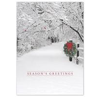 Snowy Lane Card