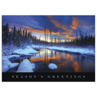 Hazel Creek Sunset Card