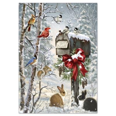 Christmas Tidings Card