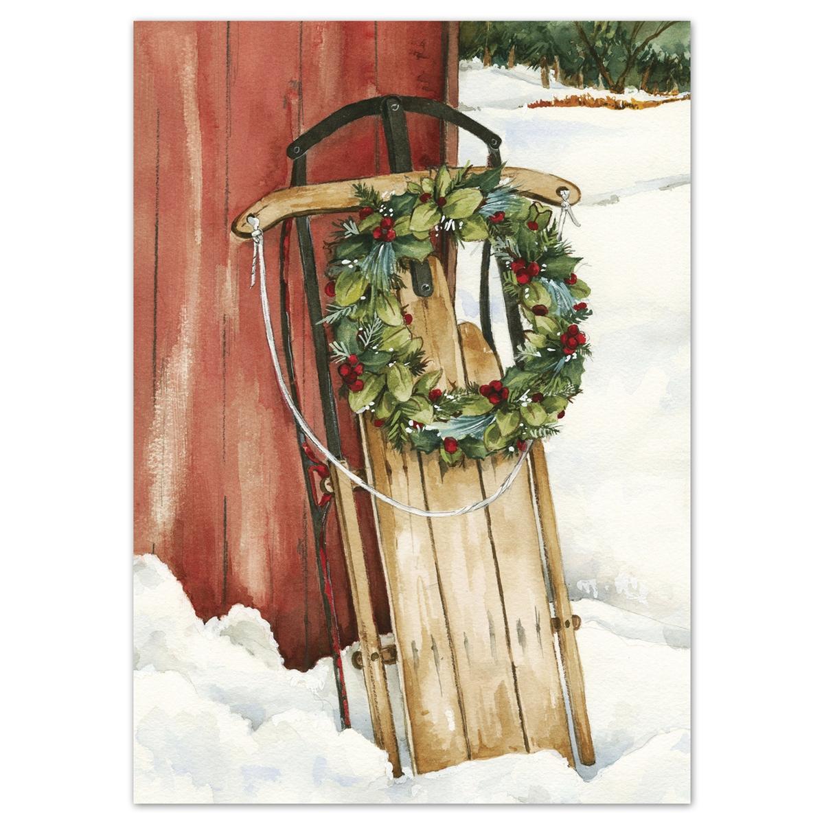 Holiday Sleigh Card