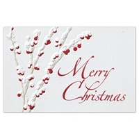 Berried in Snow Card