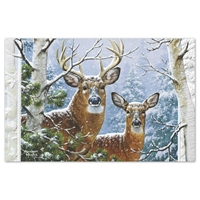 Whitetail Winter Card