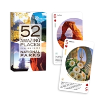 52 Amazing Places: National Parks Playing Cards