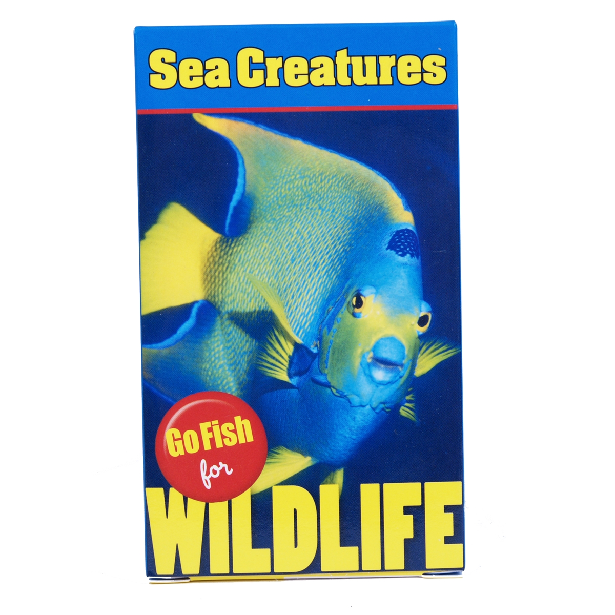 Sea Creatures Go Fish for Wildlife Card Game