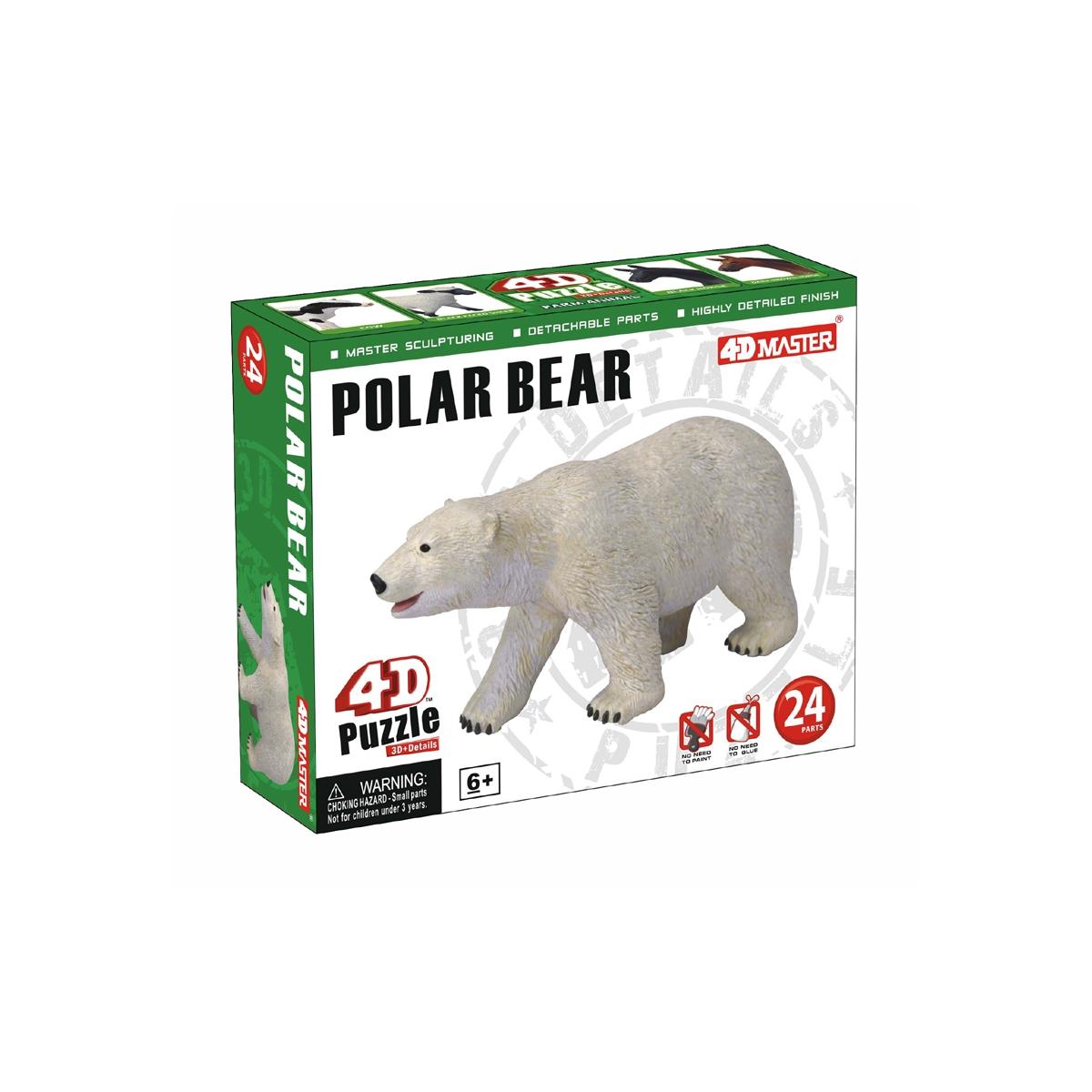 Polar Bear Model Puzzle