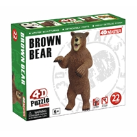 Brown Bear Model Puzzle
