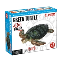 Green Turtle Model Puzzle