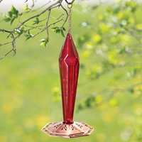 Faceted Hummingbird Feeder