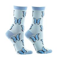 Morpho Butterfly Socks