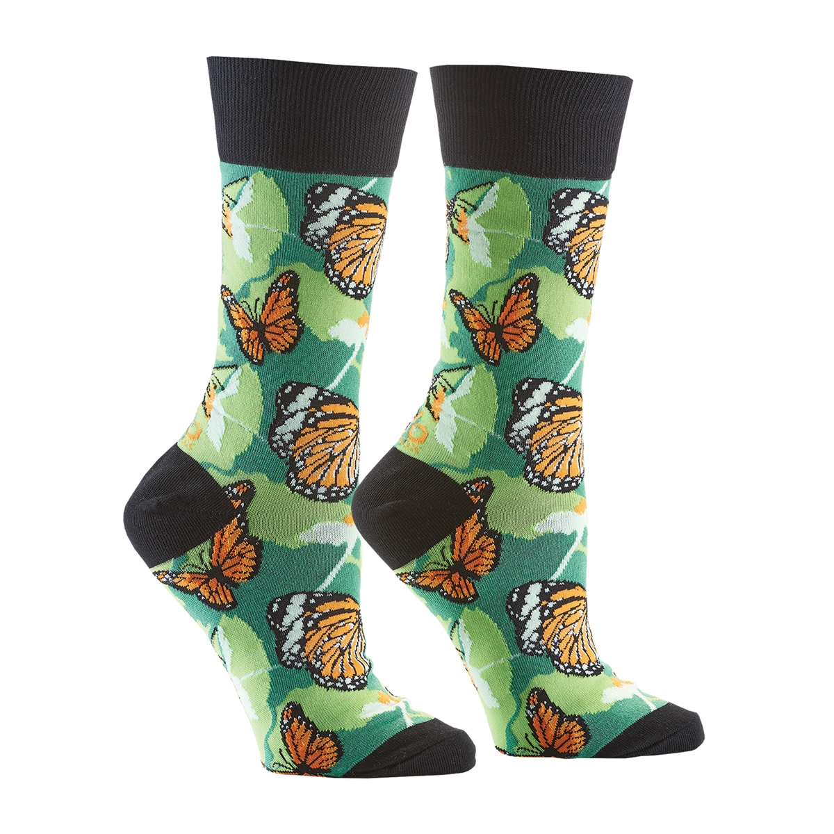 Monarch Butterfly Socks