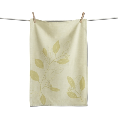 Eucalyptus Leaves Tea Towel