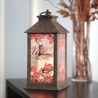 Dogwood and Chickadee Lantern