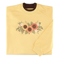 Sunflower Cluster Pullover