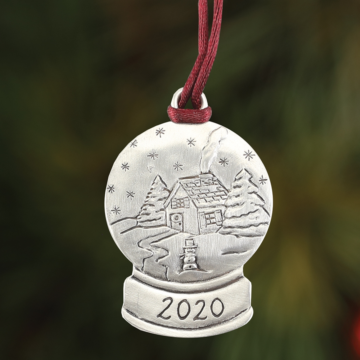 2020 Winter Globe Plant a Tree Ornament