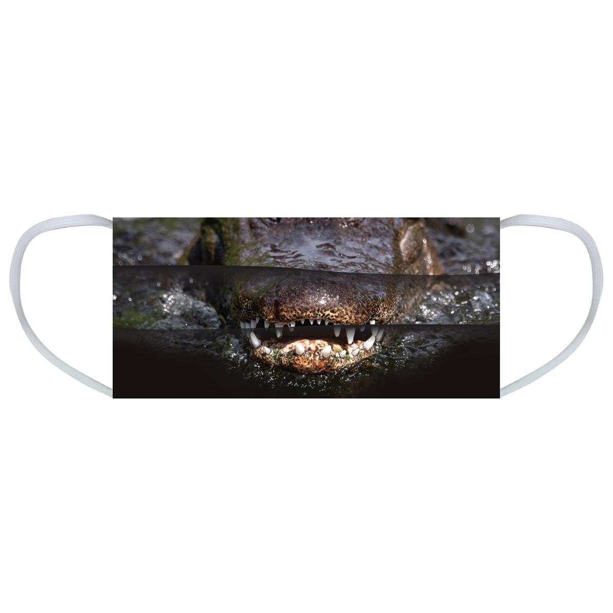 Alligator Face Mask