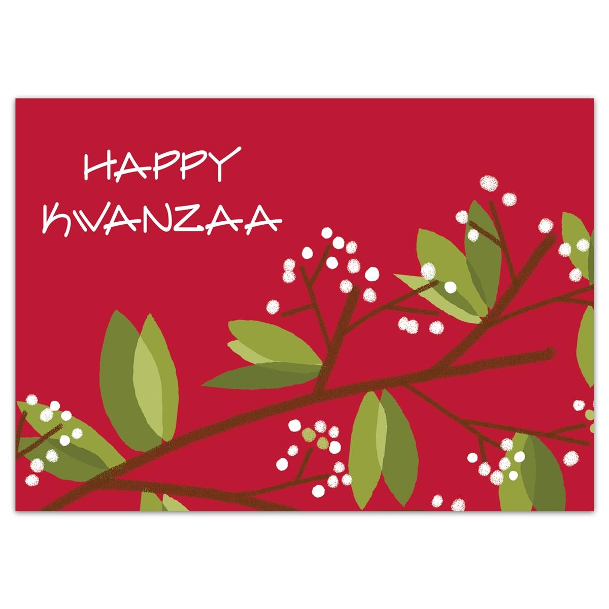 Kwanzaa Greenery