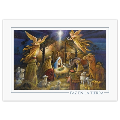 In The Manger - Spanish