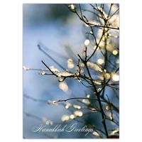 Sparkling Branch Hanukkah