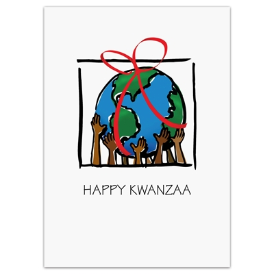 Gift of Peace Kwanzaa Holiday Cards